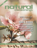 May 2021 Cover of Natural Awakenings Phoenix Magazine with a pink flower on it