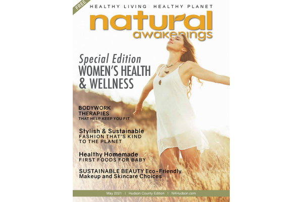 May 2021 cover of Natural Awakneings Hudson County Magazine