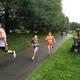 Makayla Paige and Joseph Balboni were among more than 300 runners competing at the Tewksbury Memorial Day 5K Fun Run.