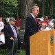 Congressman John Tierney speaks at the Tewksbury Memorial Day Ceremony.