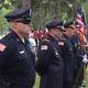 The Tewksbury Police Department Honor Guard.