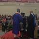 TMHS Class of 2014 Salutatorian John Melloni accepts his diploma.