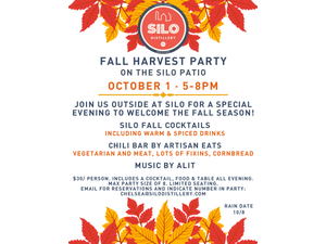 SILO Fall Harvest Party - start Oct 01 2021 0500PM
