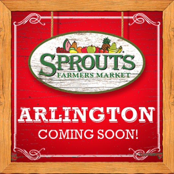 Sprouts arlington coming soon