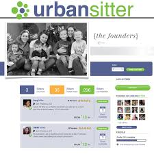 Urban sitter front page