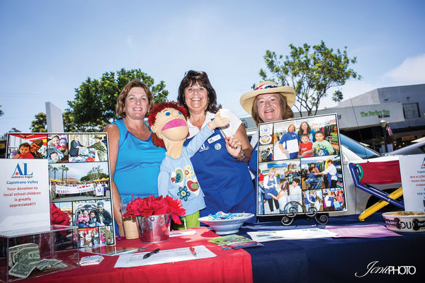 Assistance League Capistrano Valley - Sharon Gonzalez. Jacquie Glasser and Carolyn Novotny.