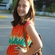 Burke Kratman is all smiles as she gets ready to start 5th grade.