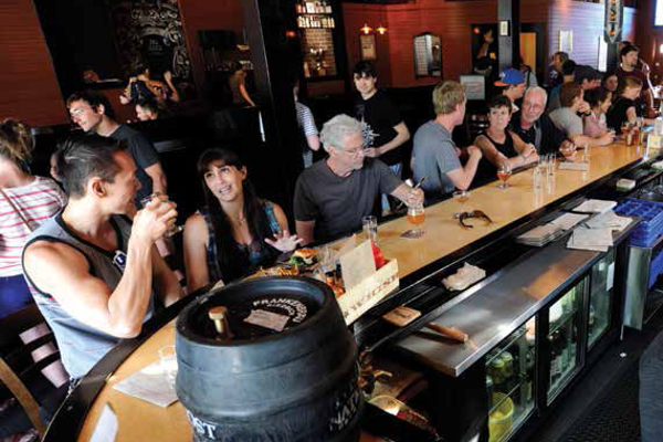 The downtown eatery can serve upward of 600 on a busy Saturday